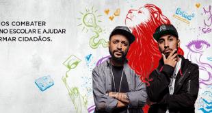 Rashid e Max B.O. lançam videoclipe para campanha contra o abandono escolar