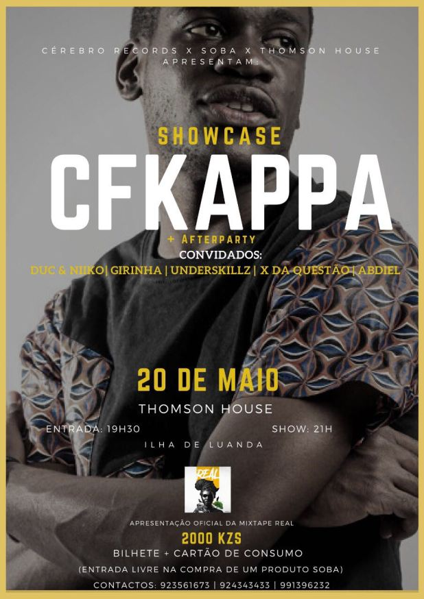 Showcase de Cfkappa, Sáb. 20/05
