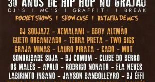 Show: 30 anos de HIP HOP no Grajaú (São Paulo), Saiba mais...
