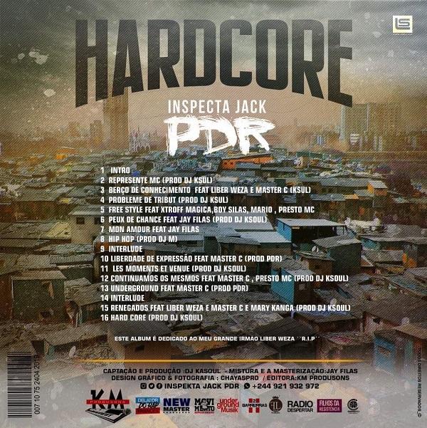 Álbum: Inspecta Jack PDR - Hardcore