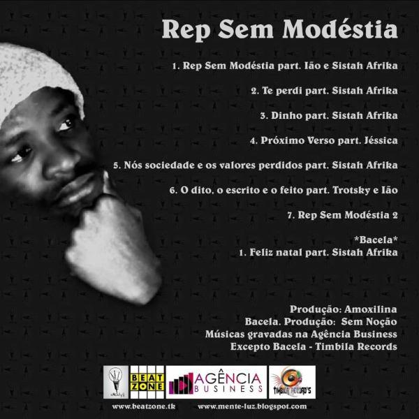 EP: MENTE LUZ - REP SEM MODÉSTIA