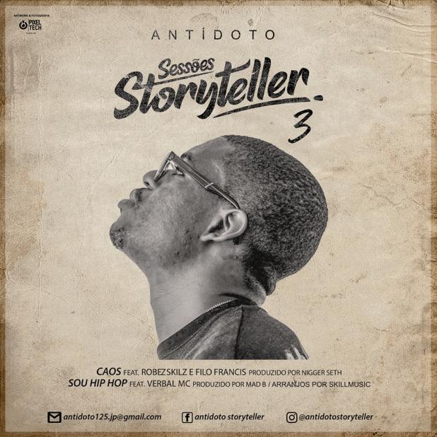 "Antídoto – lança terceira parte de ""Sessões Storyteller"""