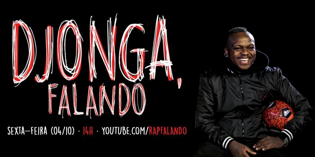 "Djonga virou Youtuber e lança canal ""Rap, falando"""