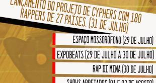 Rap da Cidade da Beira é celebrado em Festival Decolonial de Rap com vários países