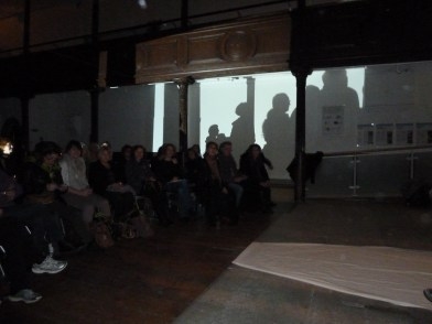 Space Interrupted Artists' talk with Blue Monkey Net 2014