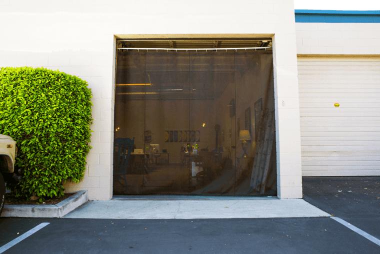 1 of 2 - 10' x 10' Loading Garage Doors