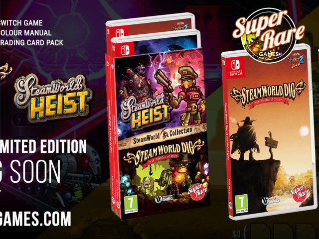 SteamWorld Gets Physical With Switch Releases, Celebrating It's 10th Anniversary!