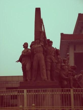 Communist Statue, Tiananmen Square , Beijing