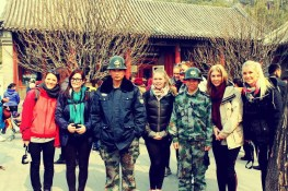 These Guards Wanted Our Photograph, Summer Palace, Beijing
