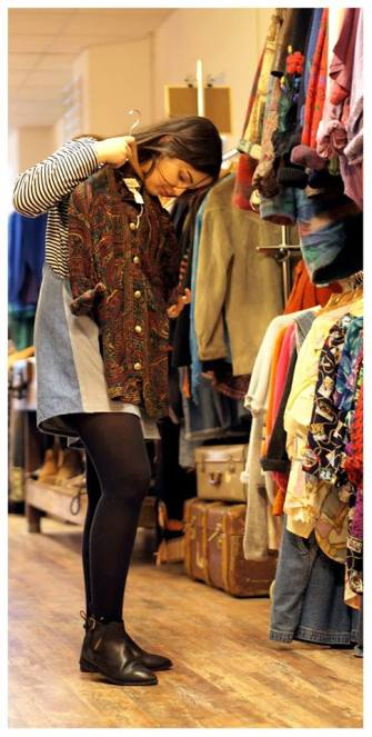 After watching a documentary called The True Cost and doing her own research, Diyora was committed to only buying clothes from companies which are fairtrade, vintage or second-hand.