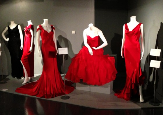 Red evening dresses, 1997–2007