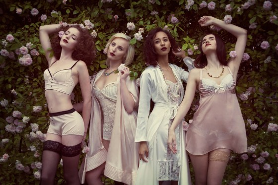 Dentelle etc, Raine & Bea, Betty Blues, Emma Harris Lingerie