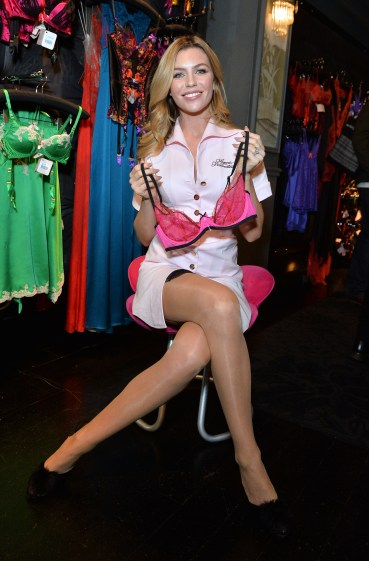Agent Provocateur Join Forces With Abbey Clancy To Support Breast Cancer Care