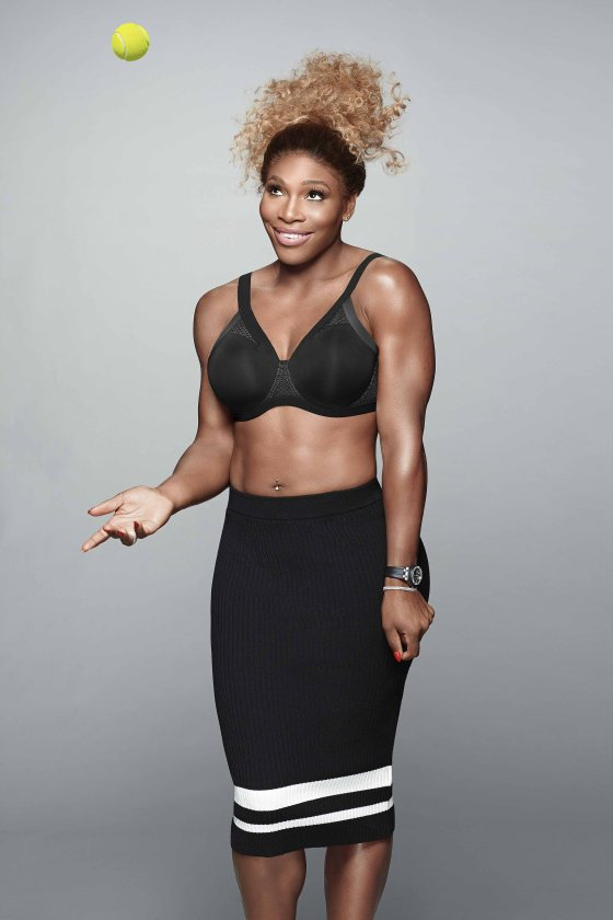 Serena in the Shift bra by Berlei