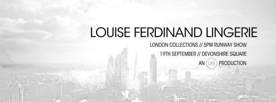LOUISE FERDINAND oxford fashion week announcement