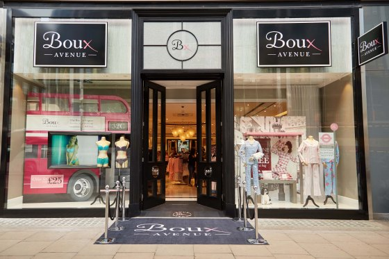 Latest Boux Avenue store: Oxford Street