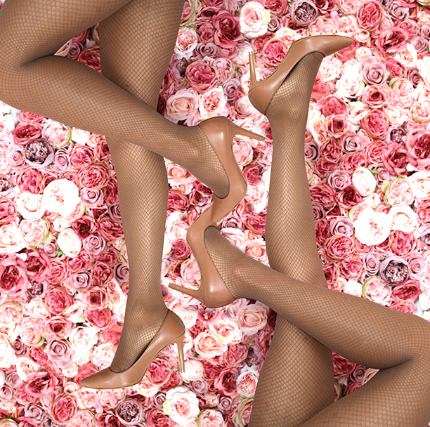 45d49a30f58 Nubian Skin have launched two brand new hosiery styles  skin-tone fishnets  and footsies. Available in all four of their signature shades berry