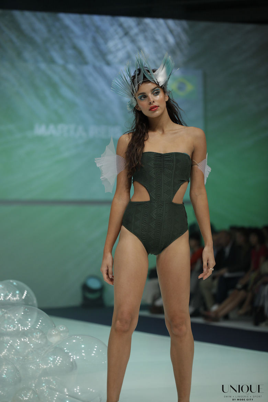 8907d4c284 Maryssil. UNIQUE by Mode City Catwalk – Swimwear & Beachwear. Marta Reis