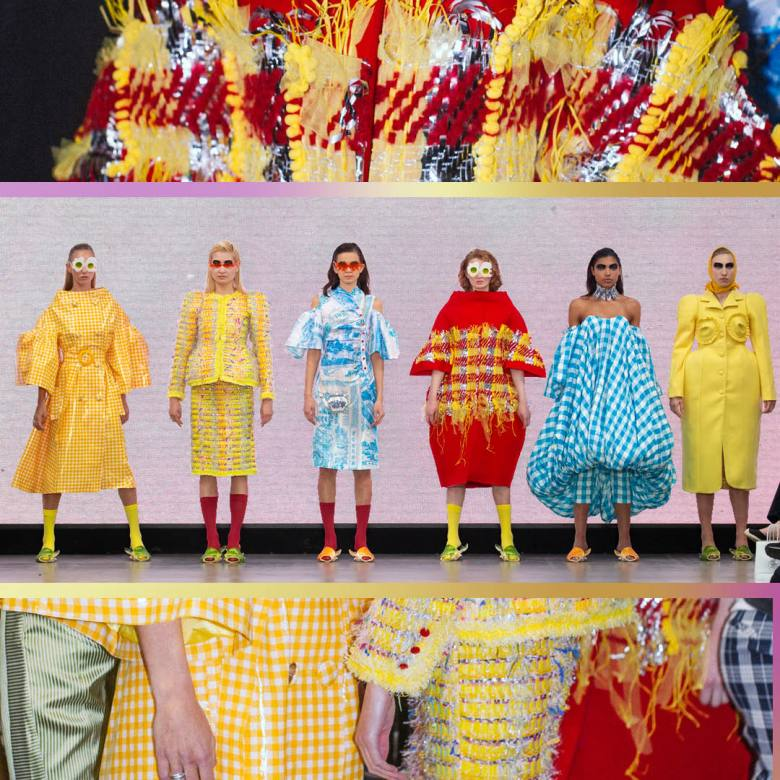 Gfw Presents Returns To London Fashion Week Showcasing 4 Emerging Designers Underlines Magazine