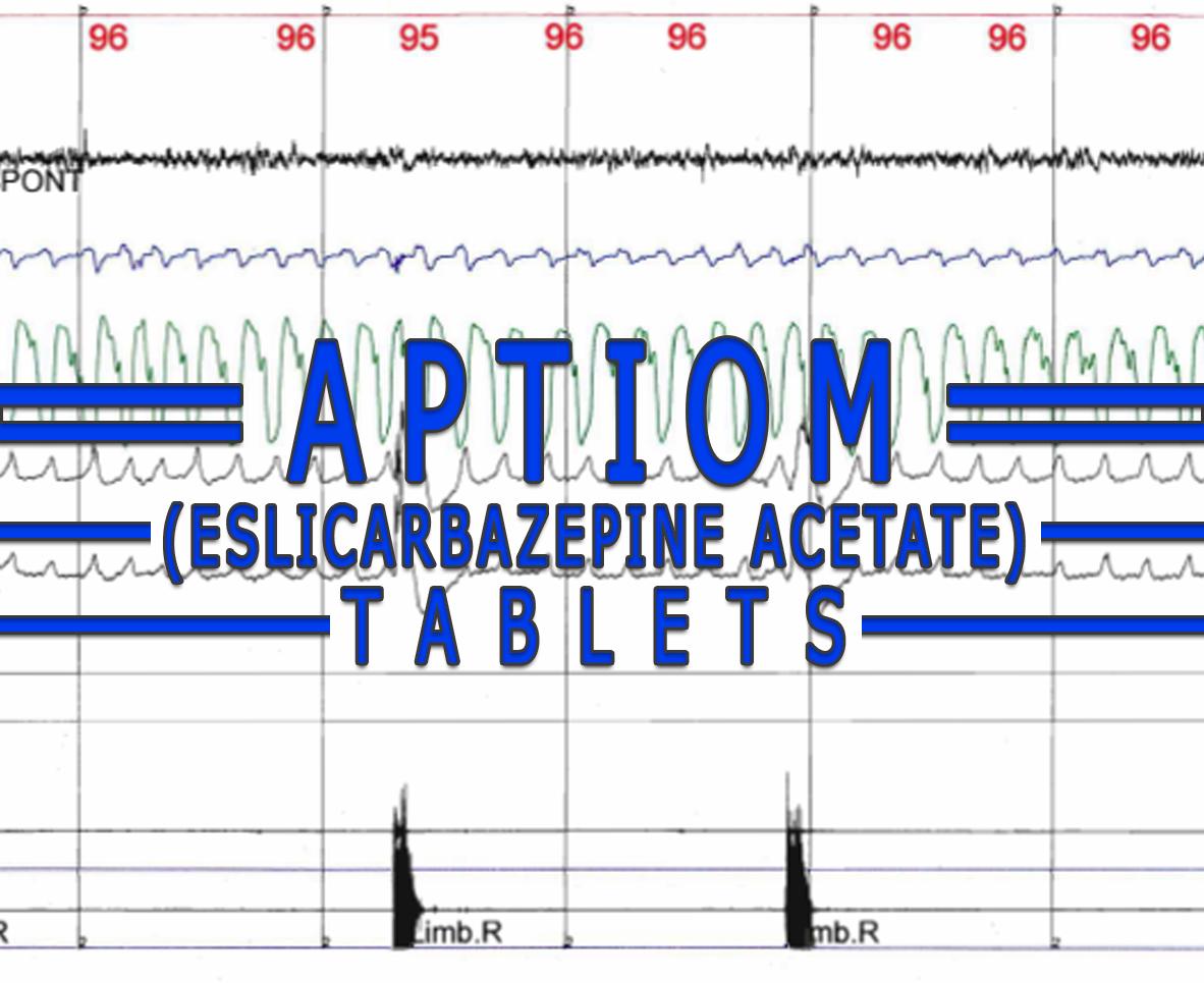 Aptiom (Eslicarbazepine Acetate) Tablets