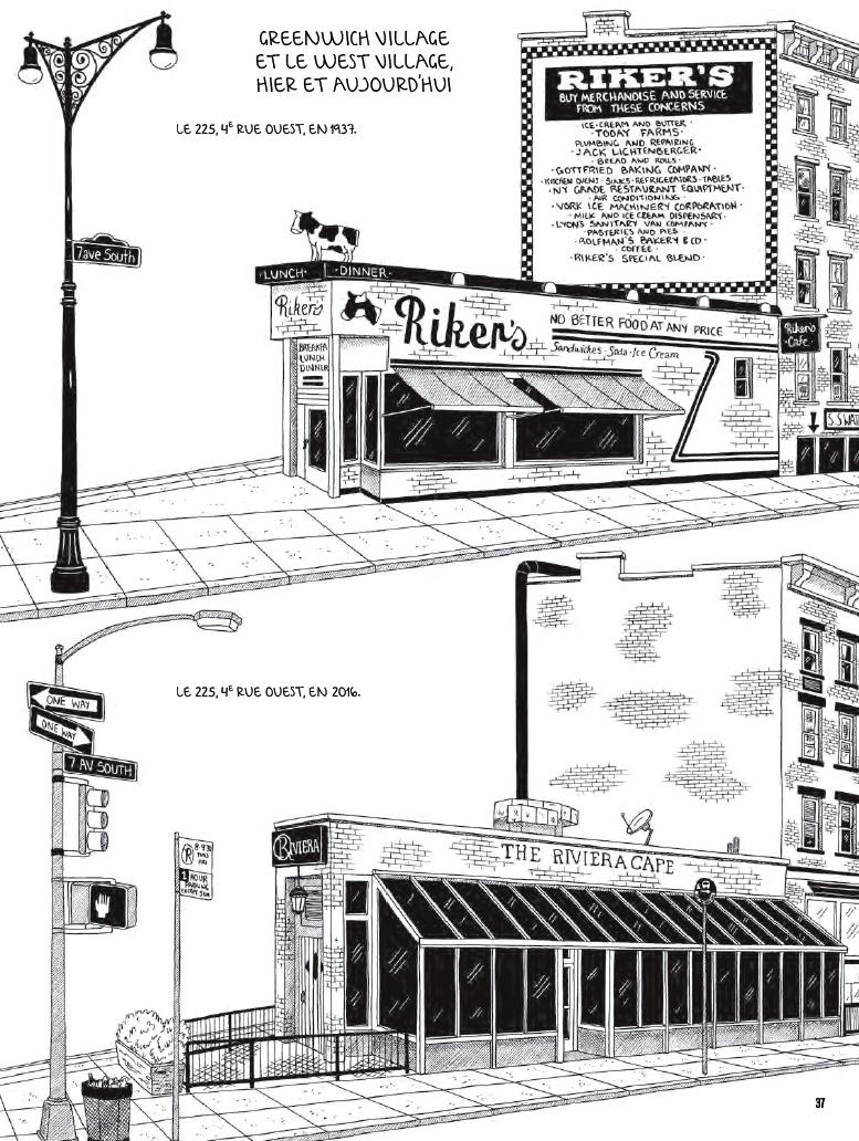 Les Entrailles De New York : entrailles, Julia, Wertz-, Entrailles, Dernier, Livre, Avant, Monde