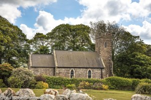 St Cwrda's Church is near the village of Jordanston in Pembrokeshire, Wales.