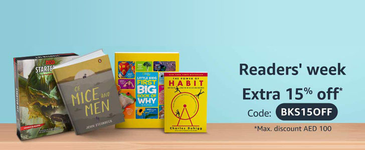 15% off on Amazon's Hottest Books