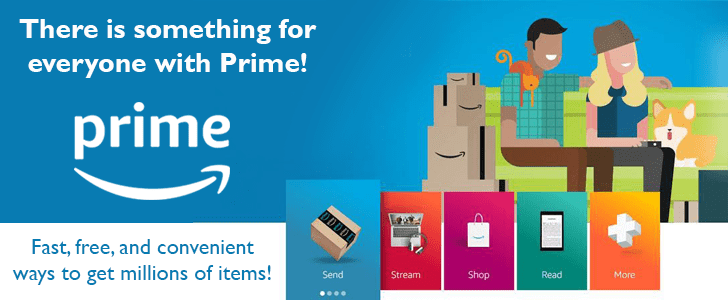 Fast, free and convenient ways to get millions of items with Amazon Prime