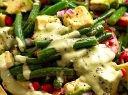 Chargrill Charlie's Green Bean Avocado Salad (copycat!)
