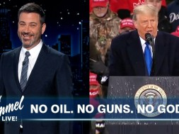 Jimmy Kimmel fact-checks Trump's 'rounding the corner' COVID claim in bleak supercut