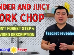 How to Make Tender Juicy Pork Chops (Don't forget step 4, see video description)
