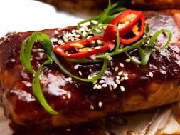 Asian Glazed Baked Barramundi recipe