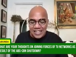 Boy Abunda opts to have his contract with ABS-CBN suspended, admits he receives offers from other networks