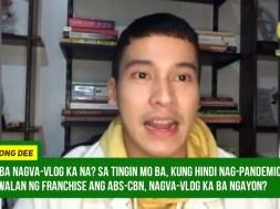 Enchong Dee highlights vlogging amid ABS-CBN shutdown