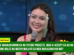 Francine Diaz considers ABS-CBN as her home, says she will not leave