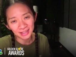 """Is 'Nomadland' director Chloe Zhao the Oscar frontrunner?"" links"