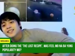 Kelvin Miranda almost gave up his career due to lack of projects prior to being the lead actor in 'The Lost Recipe'