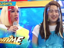 Kim Chiu shows enthusiasm as Ryan Bang portrays her in 'It's Showtime'