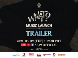 SB19 Goes Global with New Single 'What?' #SB19WHATComeback