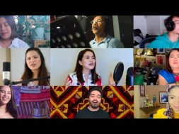 Catriona Gray, Noel Cabangon, Juris, Keiko Necesario and more artists join forces in the star-studded 'Bagani' music video