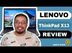 REVIEW: Lenovo ThinkPad X13, Small but Powerful