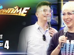 Vice Ganda puns about the country's current issues via a historical mini-quiz on 'It's Showtime'