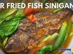 Air Fried Fish Sinigang with Miso
