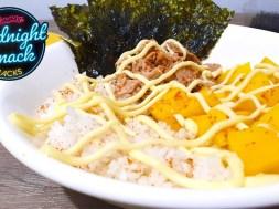 MIDNIGHT SNACK HACKS: Canned Tuna Sushi Bowl