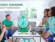 Family Mukbonding with Chicken Sinigang