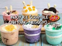 inJoy Ice Scramble Recipes na Lasang Ice Cream