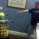 A Dalek in the kitchen!