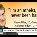 One of the atheist billboards in Sacramento