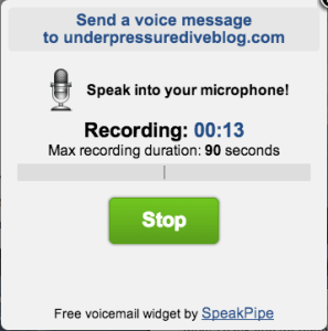 Record your message