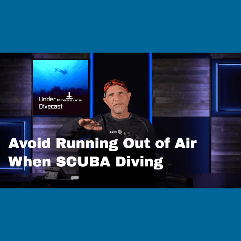 Running Out of Air SCUBA Diving